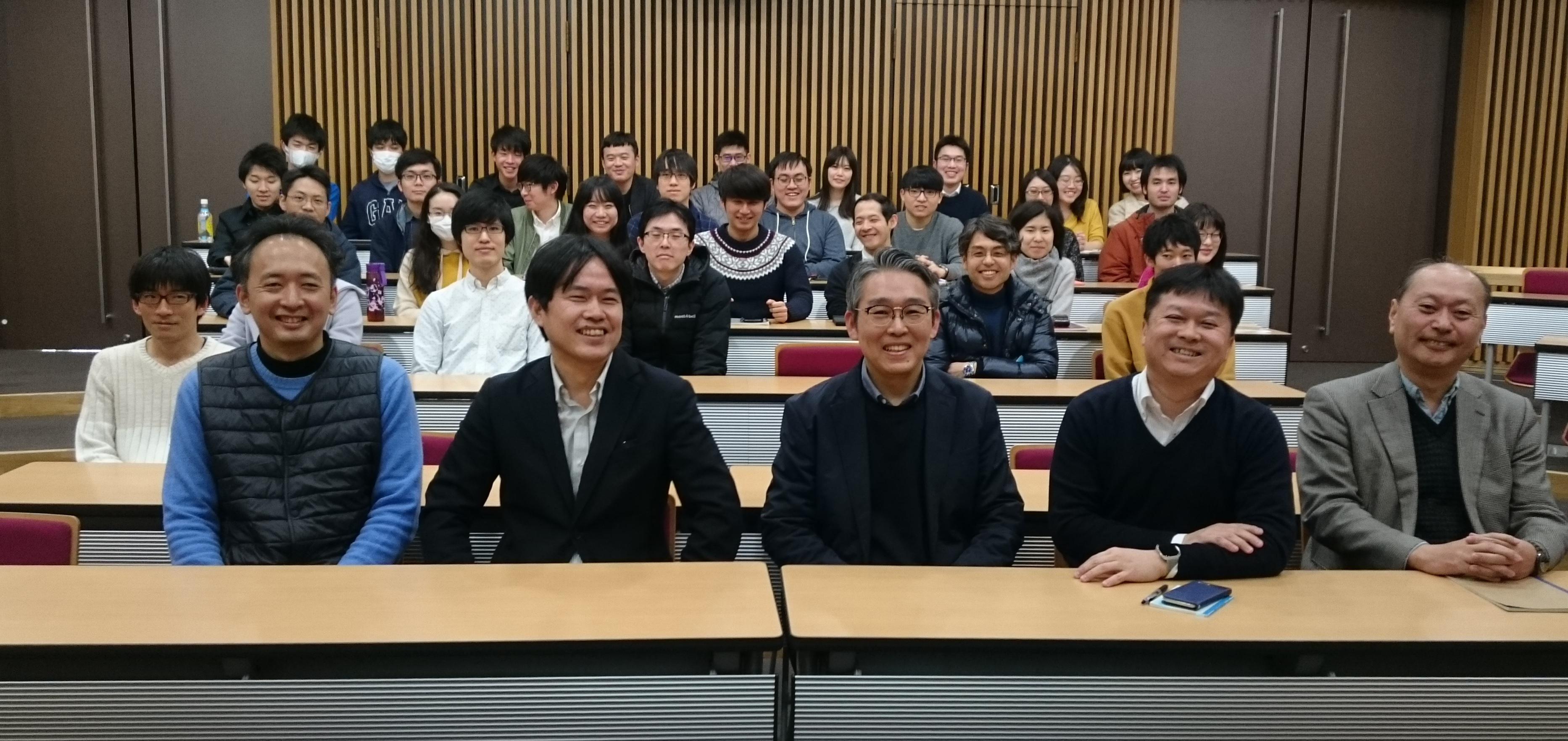Seminar in UTokyo, Tokyo, Japan